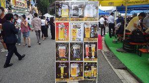 道の駅 車中泊とスタンプと・・・ 都流留です。本日は帰りがけに東京・日比谷公園で開催中のビアフェストを覗いたのですが、あまりのビールの