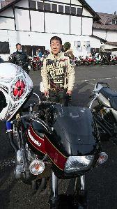 静岡でバイク乗り はじめまして^_^自分はZRX400に乗ってます。 森町に住んでます。日曜日に川根に行ってきました。