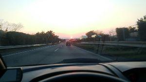 平日ドライブ 高速道路ドライブ。 意味も無く高速走るのが好きです。 先日、新東名が延長したので夕方から走ってきまし