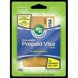 GDOT - グリーン・ドット ちなみにここはプリペイドカードやデビットカードの会社で 店でこんな風に売ってるカードを買って、Gre