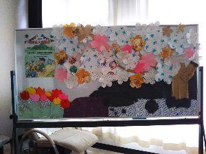 東男・京女 こんばんわ  4月食事会のボード、、、 未完成ですが (*^。^*)