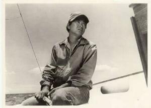 7011 - 三菱重工業(株) 1962年、敗戦の痛手もようやく癒えた頃、ヨットによる単独太平洋横断を試みた青年がいました。 パスポ