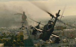 7011 - 三菱重工業(株) 出たーーーーッ❗️  三菱の陸上自衛隊ヘリ  ゴジラ出没時に活躍