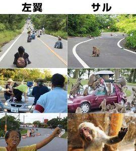沖縄県 沖縄の極左集団。 朝鮮猿が加わっているから「さもありなん」だが。