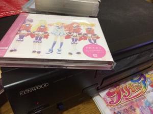 7832 - (株)バンダイナムコホールディングス バンダイナムコアーツ アイカツスターズの二枚組アルバムを購入
