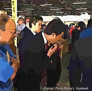 6027 - 弁護士ドットコム(株) もとえ太一郎さん。フェイスブック。  5月18日 船橋卸売市場/熊本県震災復興支援イベント