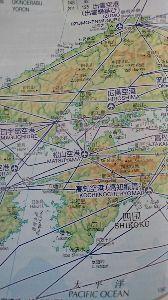 ■■破産寸前の超・貧乏個人投資家の株式投資■■ 広島県の地図。
