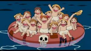 3719 - (株)ジェクシード あらー  沖にながされちゃうから  子どもたちがんばれー
