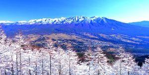 長野発  登山仲間募集~\(^_^)/ 長野、山梨近辺で山仲間が見つかるツアーです。 冠雪した八ヶ岳と南アルプスを「見に行く」ハイキングツア
