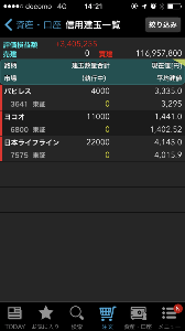 7575 - 日本ライフライン(株) 4000株だけですけど、 投げるとダイビングになりそうですし、 丁寧に売ると、スマホだと腱鞘炎になり