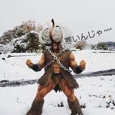 φ(・ω・ ) 角対牙 (つのたいきば)  おはようございます 関東は春の嵐みたくでも 気温は高いそうですが 北海道