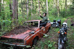 2本ショックオフロード すーさんと開田高原の林道走ってきました! R&P初の未舗装路で楽し過ぎました(*´▽`*