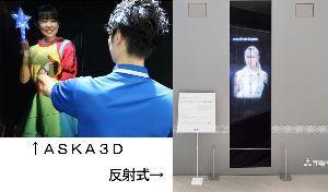 2438 - (株)アスカネット アスカネットも日本カーバイドも、どちらも再帰性反射(反射した光が光源に戻る)を利用した空中結像の方式