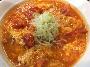 デイの生きる道 山下さんといえばクリスマスかなって思ってました( ゚д゚)  今日は地元の中華です トマト卵麺 ちょ