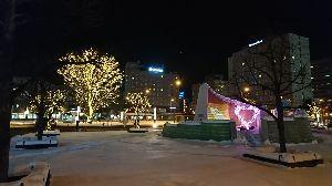 ☆北海道限定ドライブの旅☆ ●ビーバーさん、おはようございます。  苫小牧は雪がほとんど無かったのですが やっぱり夕張付近から雪