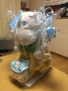 8789 - フィンテック グローバル(株) 可愛いね。  僕は後輩の出産祝いの一つに オムツをプレゼント(^ ^)
