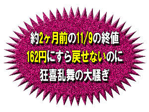 8789 - フィンテック グローバル(株) 11/12(月) 終値137円 11/09(金) 終値162円 急にハードルが高くなるので&darr