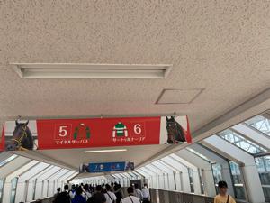 8789 - フィンテック グローバル(株) 東京競馬場着😊  ダービー㊗️