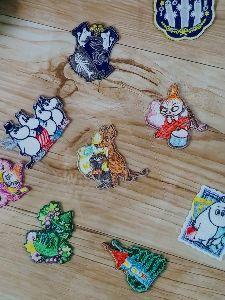 8789 - フィンテック グローバル(株) こんにちは🥰✌️  10月25日より刺繍シールワッペンコレクションが新登場!