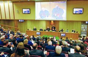 ** 戦争はイヤです! 「核なき世界」実現へ討議  ローマ法王庁が国際会議  【ローマ=伊藤寿庸】ローマ法王庁が主催する国際
