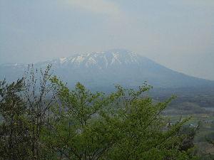 平川山岳会 七ツ森(生森)からの北側の遠望。