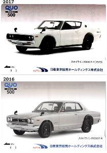 8291 - 日産東京販売ホールディングス(株) 【 クオカードもらうのに最低300株 】 必要になり、売却してしまったので、今年は届かないのが残念