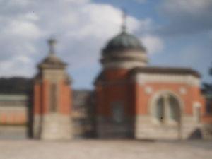 OLYMPUS OM SERIES (いつもの風景)ピンホ-ル画像 この撮影は難しい。 もっとアナを小さくする? フランジバックを