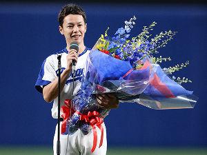 【 Live Dragons ♪ 】 29日にやってた 東海テレビさんの 浅尾投手の引退番組。  浅尾投手の優しく、たくましく、 魅力的な