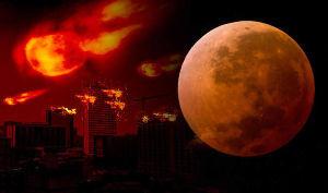 おしえコミュ 画像は「Express」より引用  半年前、今年最初の月食は月が地球に再接近する「スーパームーン」、