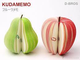 ☆目標のある毎日☆ 福袋の中にフルーツメモが入ってた! カワイイლ(╹◡╹ლ)