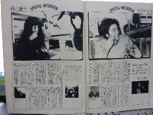 ぼくたちの失敗 森田童子 1981年の2月雑誌FMスペシャルに童子さんの記事が載りました。 こすぎ じゅんいち さんという音楽