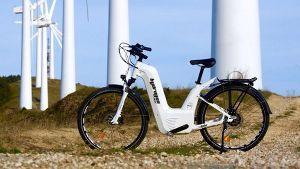 ^DJI - NYダウ 充電2分で150kmの距離を走る。水素を使った市場初の燃料電池アシスト自転車、、  普通のeバイクの