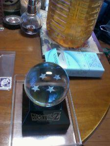 民家の庭の中にあかるさまに信号機用の押しボタンがある 栃木県上三川町 ドラゴンボール 秋葉原で6000円で買った