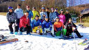 スキーが上手くなりたい!!そんな方へ 初滑りに行ってきました。 今回は、1名ビジター参加でした。