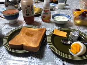 2114 - フジ日本精糖(株) 和彩糖を蜂蜜代わりに、パン、ヨーグルトの味付けです。