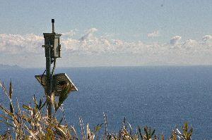 静岡 ≪40代友の会≫ 遠く水平線に 伊豆諸島が望める                      Too faraway &