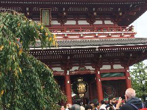 シェイプアップ♪ 10月7日  今日は浅草寺へ。 すごい人出。