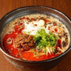 しりとり独り言 担々麺  胡麻スープと辣油のバランスがミソなの(*^-^*)♪   🐰
