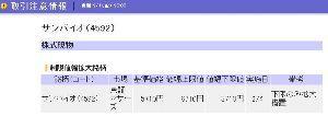 4592 - サンバイオ(株) wwwwwww