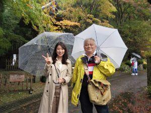 箱根の質問何でも下さい。 昨日は朝8時半からTBSの夕方のニュース絵の特集 箱根の紅葉私のおすすめコースの収録でした。 まず最