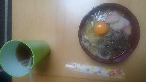 ★☆★☆★愛 木曜、金曜日  今日、自炊の  肉うろん  食べます  これ~~  タエ  ★☆💤