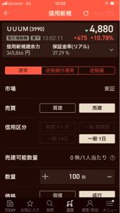 3990 - UUUM(株) コイツめ、また上がって来やがった!