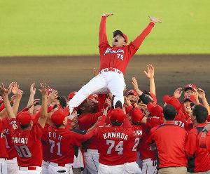 *~完全なるひとりごと~* 広島Carp3連覇 地元優勝おめでとうございます。次は日本一ね。お願いね。