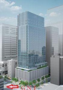 2160 ‐(株)ジーエヌアイグループ takさん御苦労さま。目の前の武田東京本社ビルは来月末の予定とか。☟  ところで懇親会の件、今日も一