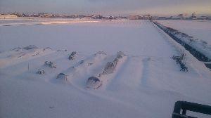 一日の想い出 雪降ったね!何処も行かず家で待機(*^^*)