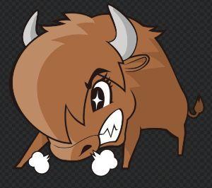 6925 - ウシオ電機(株)  なんか、猛牛になってない??