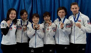 徒然なるままに( ^^) _U~~ 日本代表も改めて載せないといけませんね。 日本は堂々の準優勝、銀メダルでした!  初出場が5人中3人