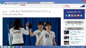 徒然なるままに( ^^) _U~~ 2016年 女子カーリング世界選手権 予選通過した4国によるプレーオフ (誰も読んで&観戦していない