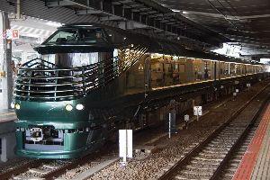 還暦になりました。 トワイライトエクスプレス瑞風が7月29日 10時18分にJR大阪駅を発車すると聞いて写真撮りに行って