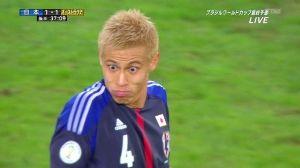 思わず吹いたサッカー画像 本田さん